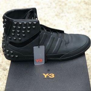 NWT Yohji Yamamoto black men's sneakers -size 18